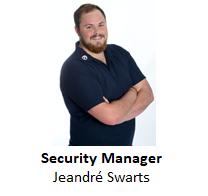 Jeandre swarts -ENG